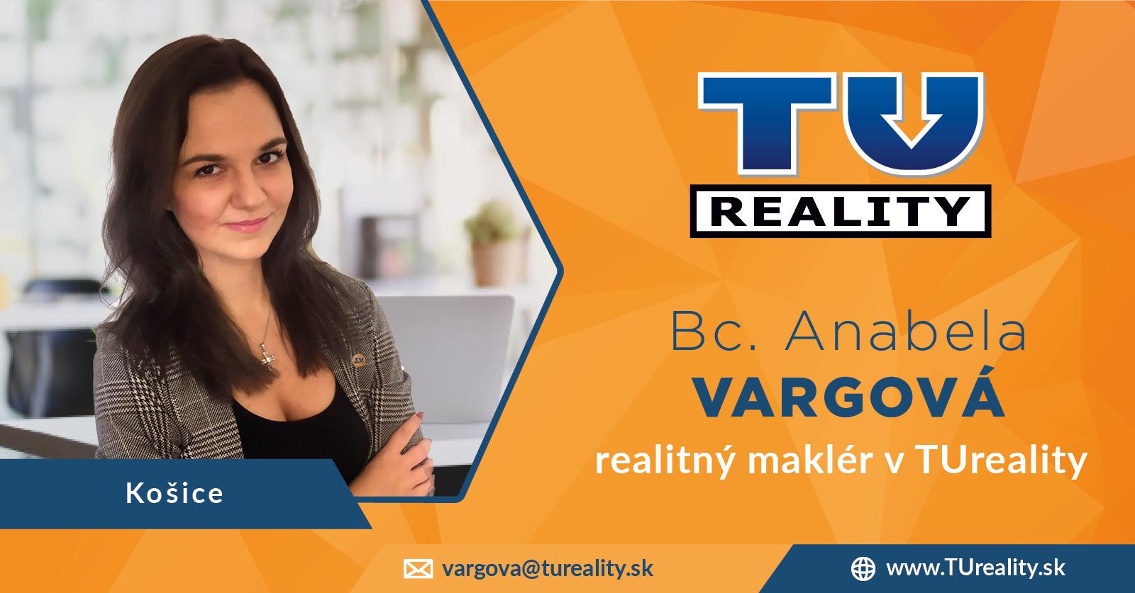 Bc. Anabela VARGOVÁ